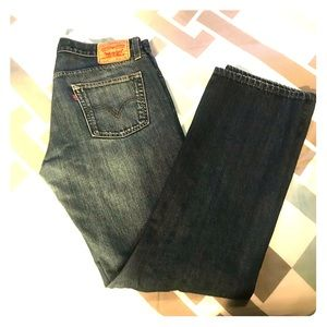 Levis 514 Slim Straight Jeans - 34x32